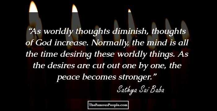 108 Sri Sathya Sai Baba Quotes For A Positive Mind