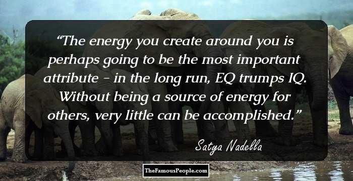 111 Inspirational Quotes By Satya Nadella That Reveal The