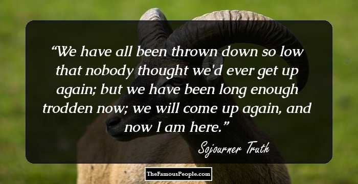 9 Inspiring Sojourner Truth Quotes That Will Prod You To ...