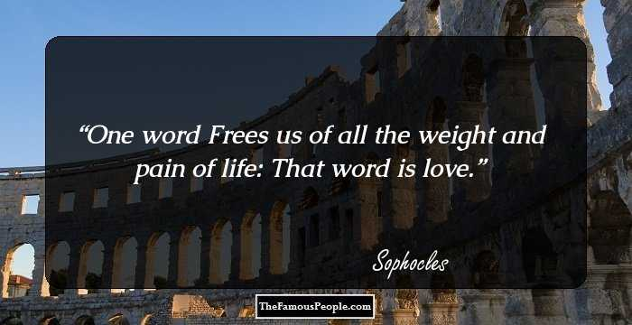 100 Famous Sophocles Quotes On Life