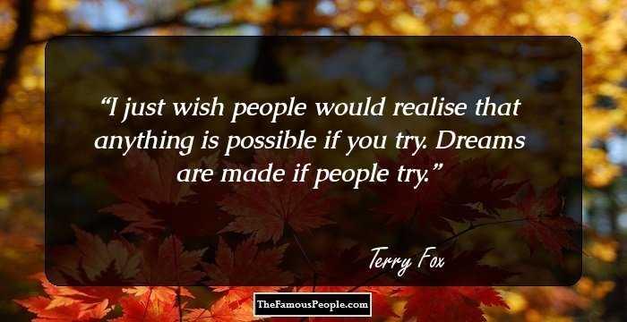 Terry Fox Biography - Childhood, Life Achievements & Timeline