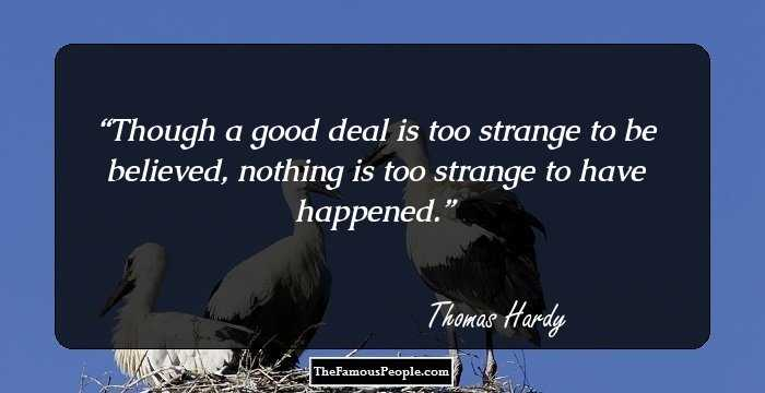 thomas hardy philosophy of life