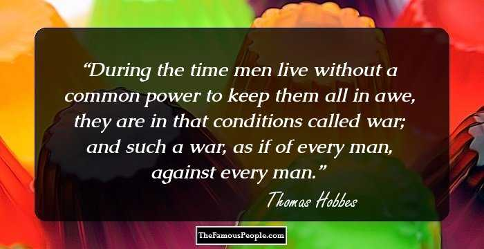 Thomas Hobbes Social Contract Quotes Extraordinary 72 Insightful Quotesthomas Hobbes For The Savants