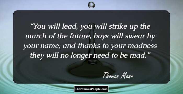 92 Best Thomas Mann Quotes