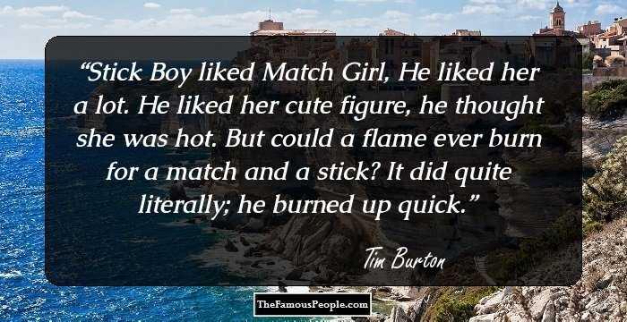 Tim Burton Love Quotes