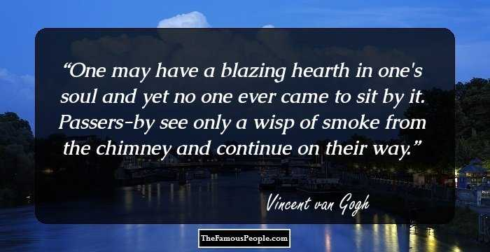 100 Most Memorable Quotes By Vincent Van Gogh That Will Give A New