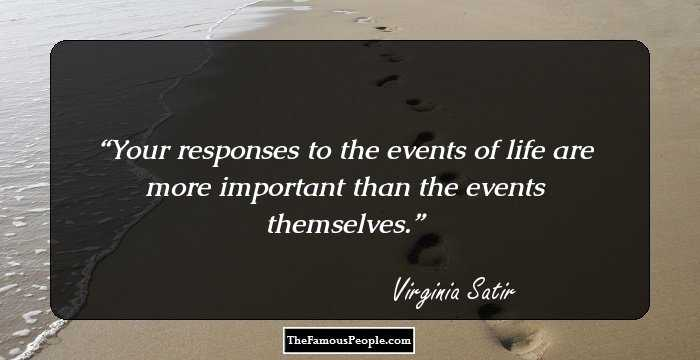 52 Thought Provoking Quotes By Virginia Satir Family