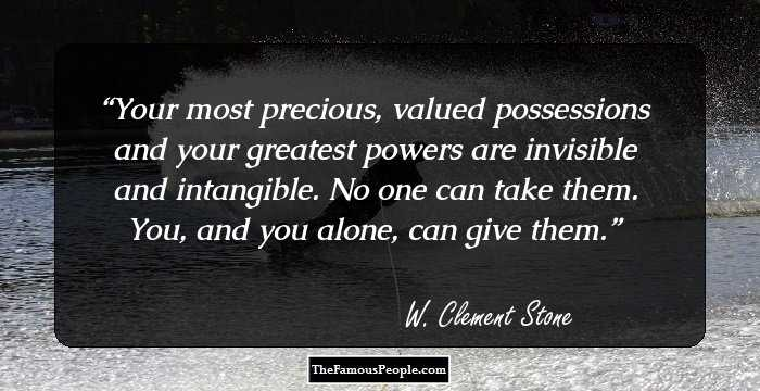 15 Inspirational W Clement Stone Quotes That Show The Way