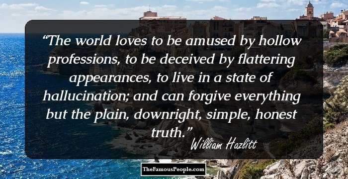 by essay hating hazlitt pleasure william In his 1823 essay, on the pleasure of hating, william hazlitt wrote: the pleasure of hating, like a poisonous mineral, eats into the heart of religion,.